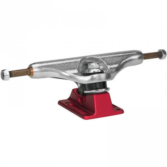 Independent Stage 11 Forged Hollow Polished Trucks - Red