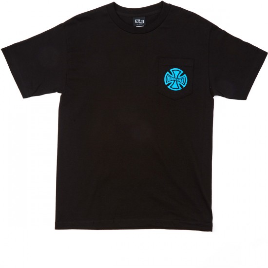Independent Static Pocket T-Shirt - Black
