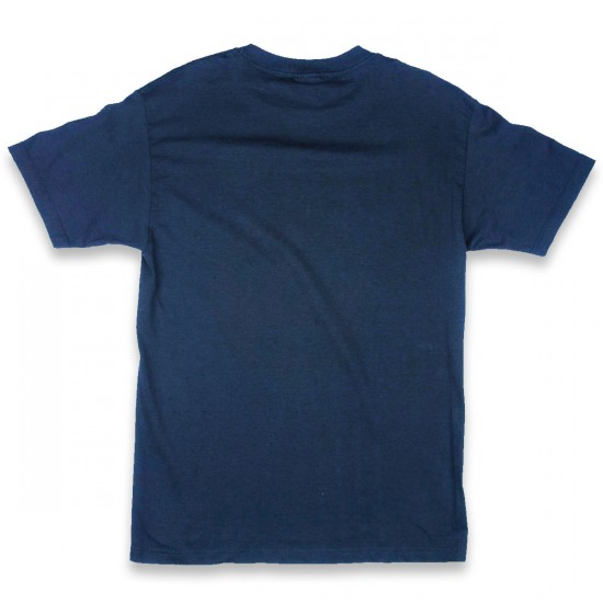 Independent Sticker Bar T-Shirt - Harbor Blue