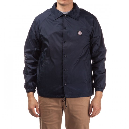 Independent Subdue Coach Windbreaker Jacket - Light Navy