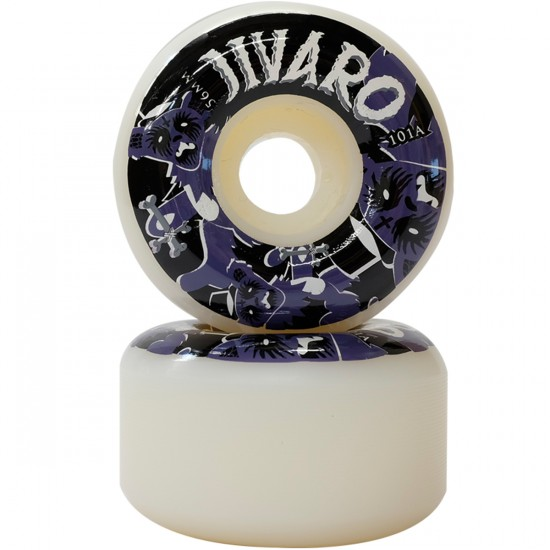 Jivaro El Rey Skateboard Wheels - 56mm - 101a
