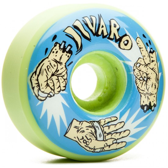 Jivaro El Roshambo Skateboard Wheels - 58mm 101a - Green