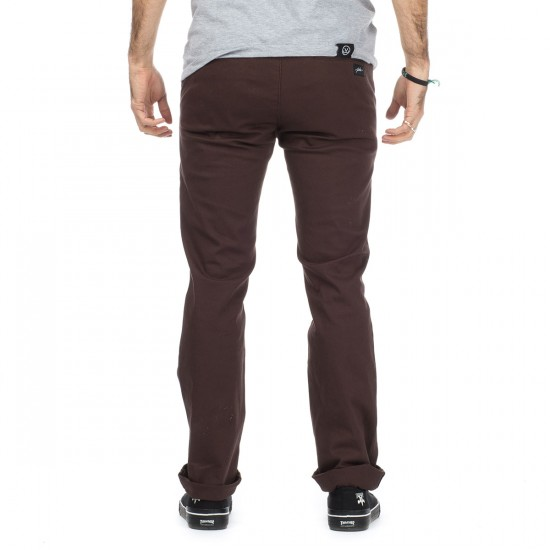 JSLV Blunt Worker Pants - Chocolate - 28 - 32