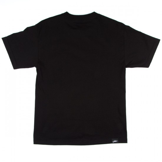 JSLV High Life Rose Bud T-Shirt - Black