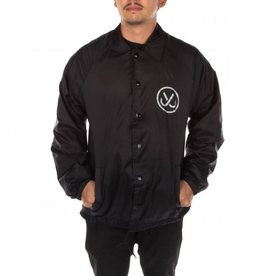 JSLV Hooks Coach Jacket - Black