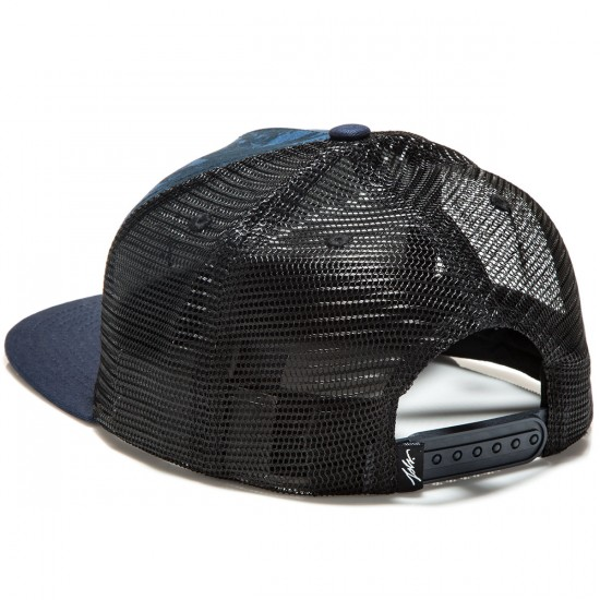 JSLV Hooks Palms Trucker Hat - Blue