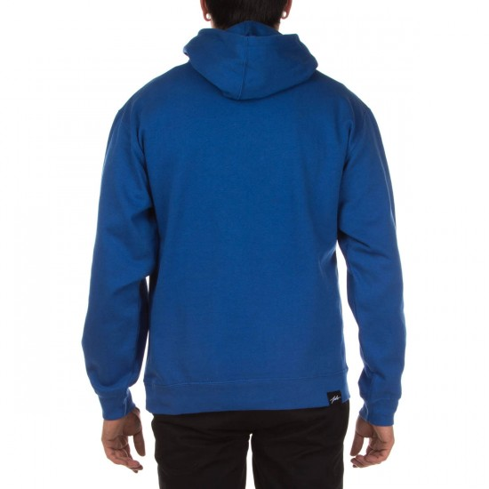 JSLV Hooks Pull-Over Fleece Hoodie - Royal