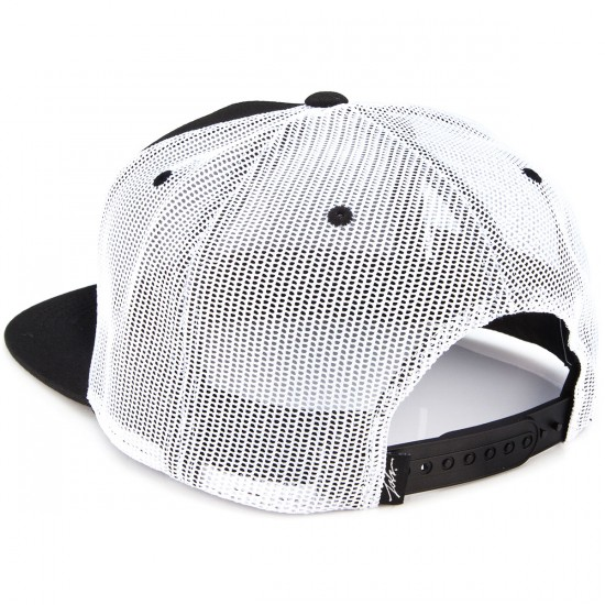JSLV Hooks Trucker Hat - Black/White