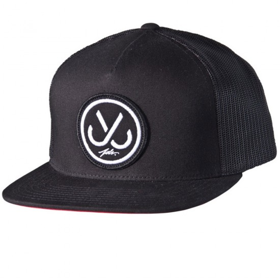 JSLV Hooks Trucker Hat - Black
