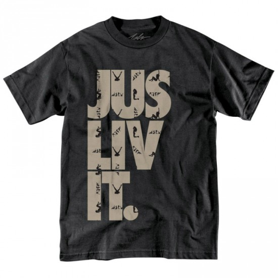 JSLV Liv It Naughty T-Shirt - Black