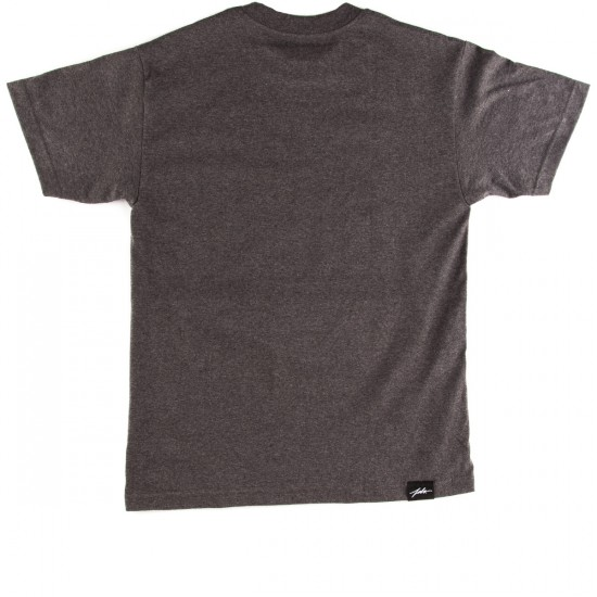 JSLV Liv'N Large T-Shirt - Charcoal Heather
