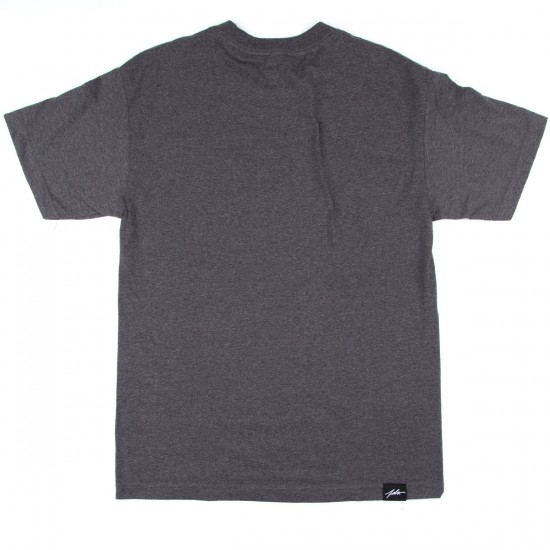 JSLV Posted T-Shirt - Athletic Heather