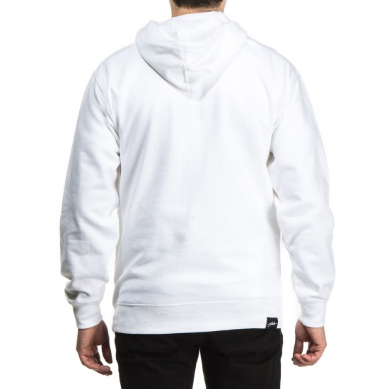 JSLV Signature Pull-Over Hoodie - White