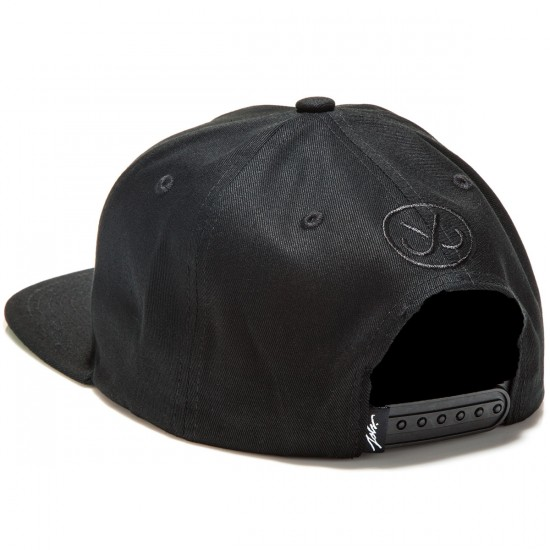 JSLV Signature Snap Back  Hat - Black/White