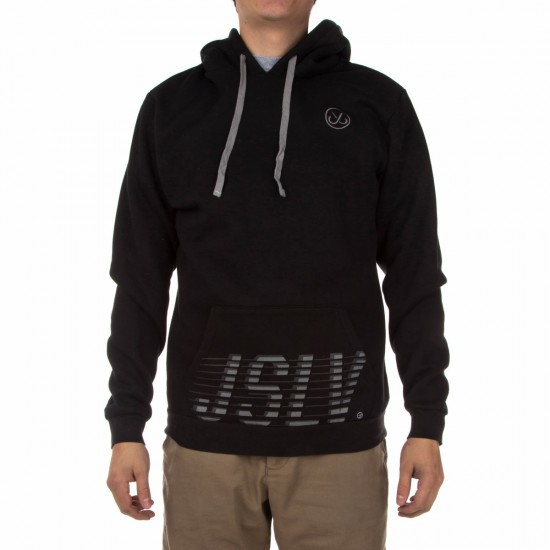 JSLV Smash Custom Fleece Hoodie - Black