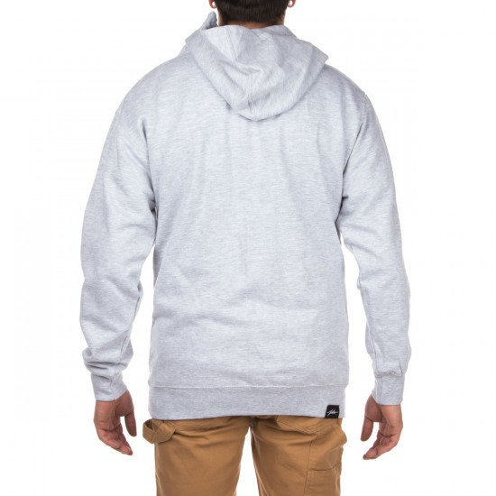 JSLV Times Pull-Over Fleece Hoodie - Athletic Heather/Black