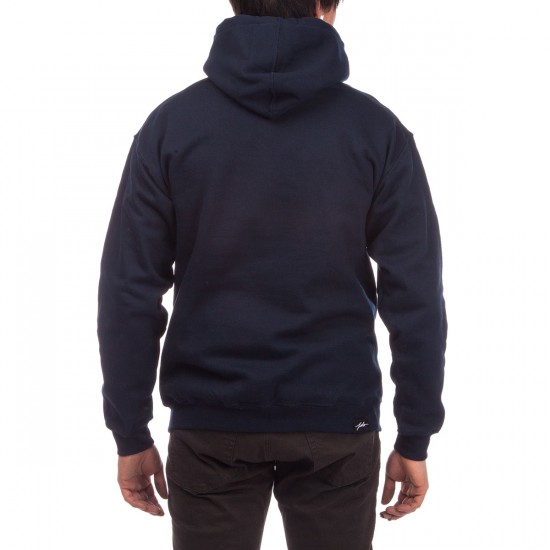 JSLV Times Square Pullover Hoodie - Navy
