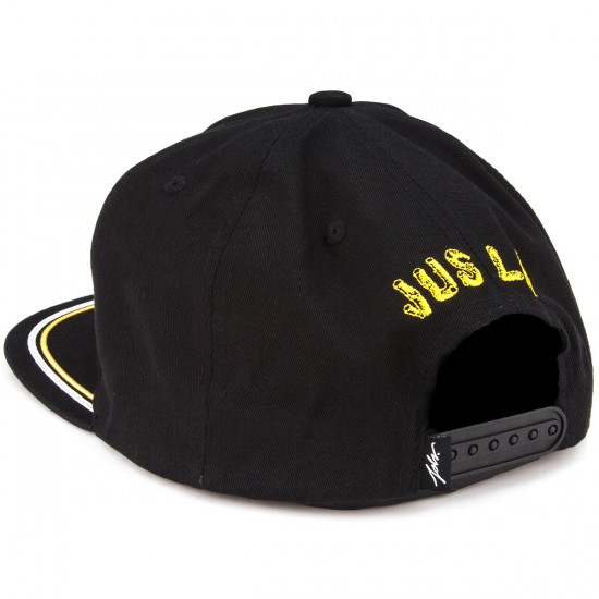 JSLV Tripped Out Snapback Hat - Black