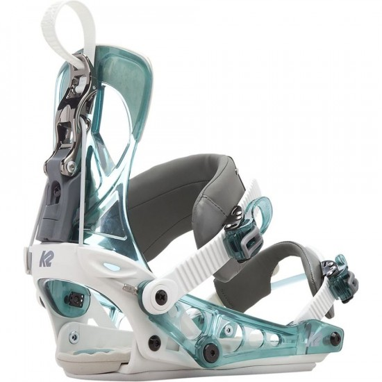 K2 Cinch Tryst Womens Snowboard Bindings 2017 - Water
