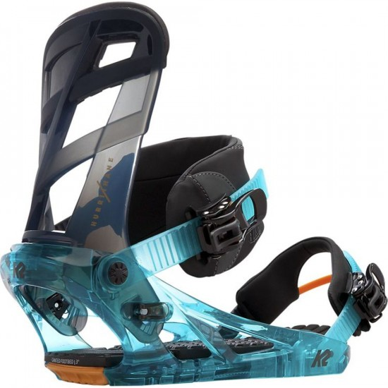 K2 Hurrithane Snowboard Bindings 2017 - Tide