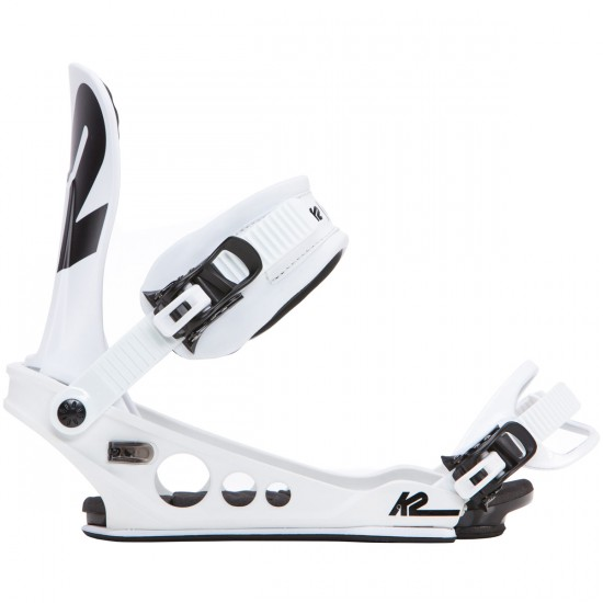 K2 Lien AT Snowboard Bindings 2018 - White