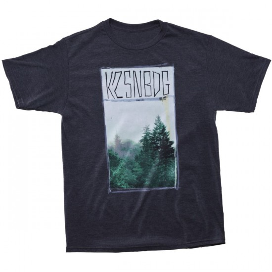 K2 Misty Mountain Slim T-Shirt  - Charcoal