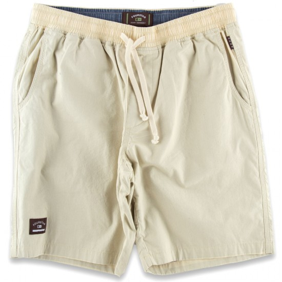 Kennedy Drawcord Shorts - Ecru