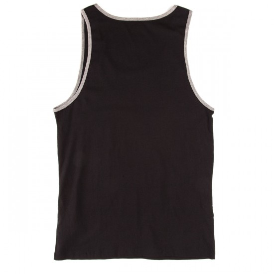 KR3W Bold Locker Tank - Black/Grey Heather