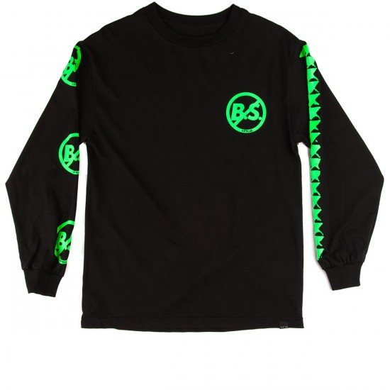 KR3W Fergus BS Long Sleeve T-Shirt - Black
