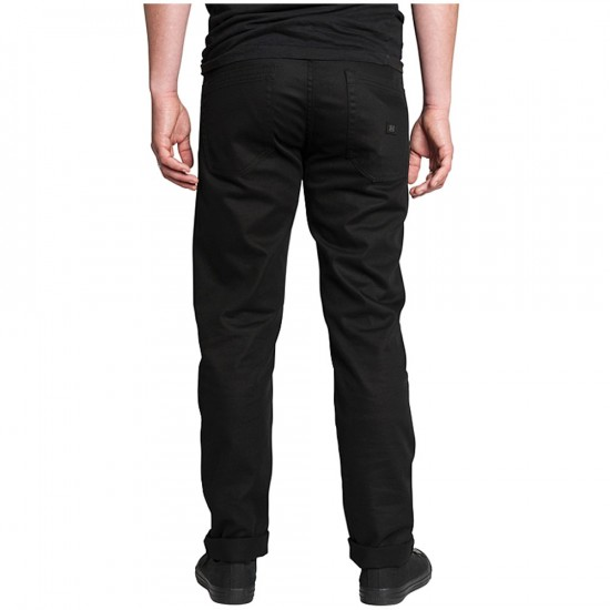 KR3W K Slim 5 Pocket Pants - Black - 28 - 32