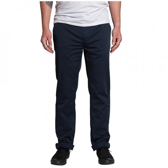 KR3W K Slim Chino Pants - Midnight - 36 - 32