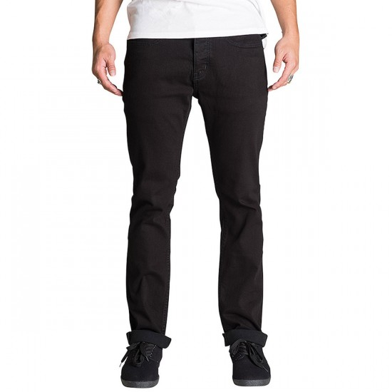 KR3W K Slim Chino Pants - Black - 36 - 32