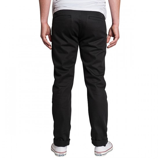 KR3W K Slim Chino Pants - Carbon - 38 - 32