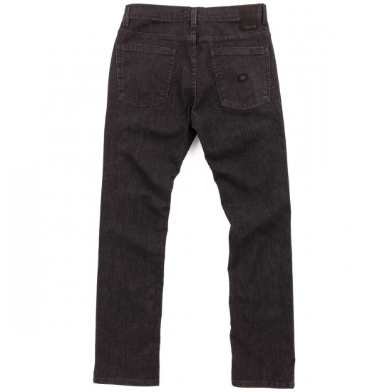KR3W K Slim Jeans - Dark Black - 31 - 32