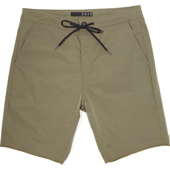 KR3W K Standard Wino Chiller Shorts - Dirty Olive