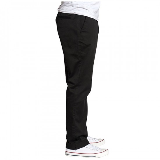 KR3W Klassic Chino Pants - Black - 38 - 32