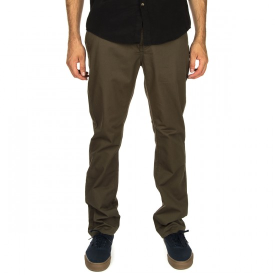 KR3W Klassic Chino Pants - Dirty Olive - 32 - 32