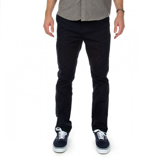 KR3W Klassic Chino Pants - Midnight - 28 - 32