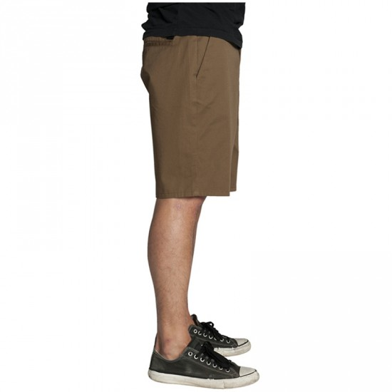 KR3W Klassic Chino Shorts - Coffee