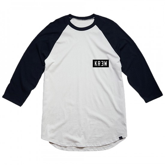KR3W Locker Box T-Shirt - Eggshell/Black