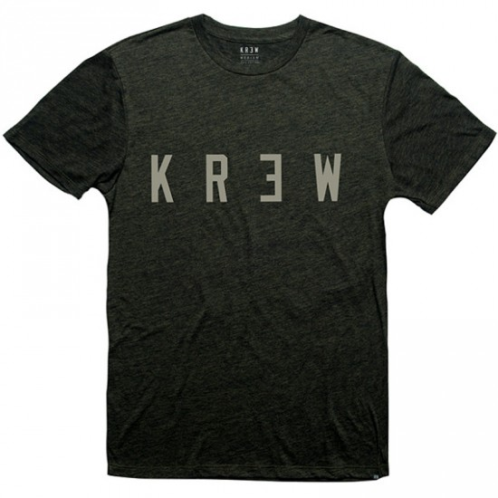 KR3W Locker T-Shirt - Black Brass/Heather