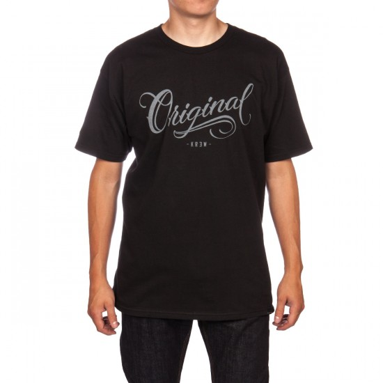 KR3W Los Originales T-Shirt - Black