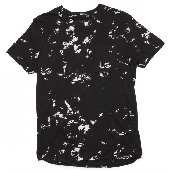 KR3W Merrill Short Sleeve Crew T-Shirt - Black Marble
