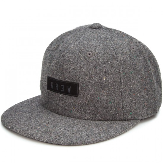 KR3W Woods Snap Hat - Grey Heather