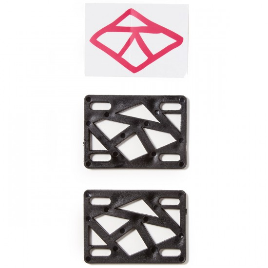 "Krooked 1/4"" Riser Pad Set - Black"