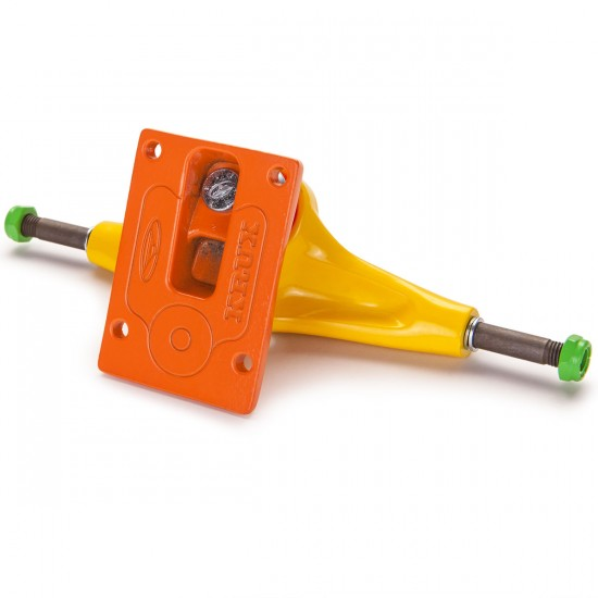 Krux K4 The Party Skateboard Trucks - Yellow/Orange