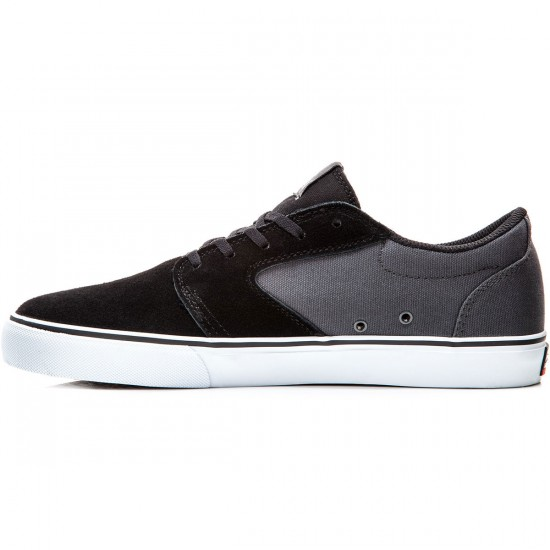 Lakai Fura Shoes - Black/Grey Suede - 8.0