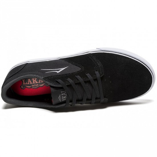Lakai Fura Shoes - Black Suede - 6.0