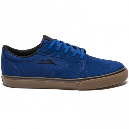 Lakai Fura Shoes - Blue/Gum Suede - 6.0