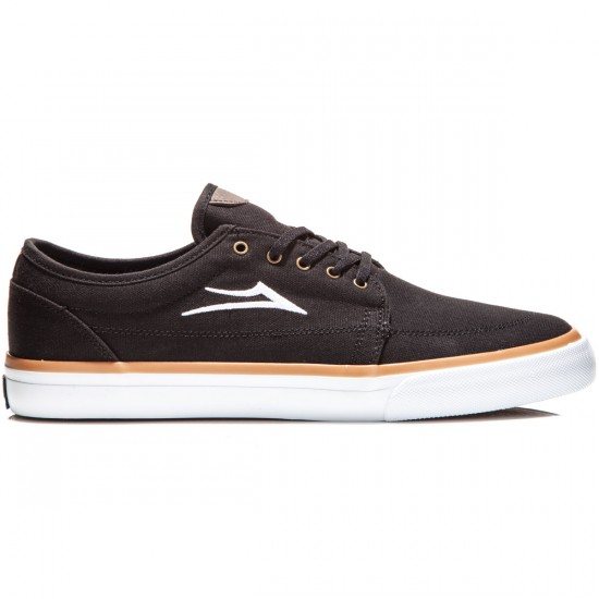 Lakai Madison Shoes - Black Canvas - 10.0